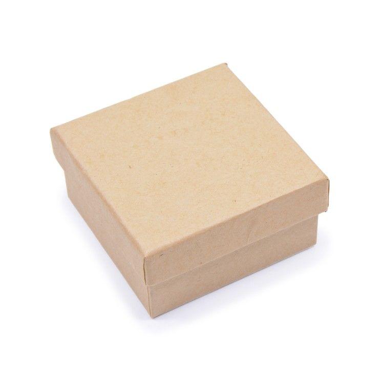 Шкатулка из картона для декорирования. 7x7x3,5 см, Заготовки для декупажа и росписи, Москва,  Фото №1